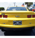 chevrolet camaro 2010 yellow coupe ls gasoline 6 cylinders rear wheel drive 5 speed manual 33177