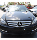 mercedes benz c300 2011 black sedan gasoline 6 cylinders rear wheel drive automatic with overdrive 77581
