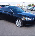 honda accord 2010 black sedan ex l gasoline 4 cylinders front wheel drive automatic 77074