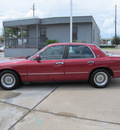 mercury grand marquis 1995 red sedan ls gasoline v8 rear wheel drive automatic with overdrive 77074