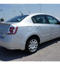nissan sentra 2011 silver sedan s gasoline 4 cylinders front wheel drive automatic 77471