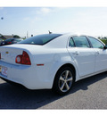 chevrolet malibu 2011 white sedan lt gasoline 4 cylinders front wheel drive automatic 77471