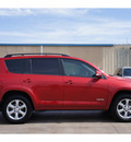 toyota rav4 2009 red suv limited gasoline 6 cylinders front wheel drive automatic 79110