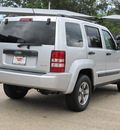 jeep liberty 2008 silver suv sport gasoline 6 cylinders 4 wheel drive automatic with overdrive 77074