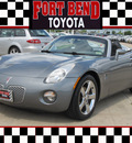 pontiac solstice 2007 gray gasoline 4 cylinders rear wheel drive automatic with overdrive 77469