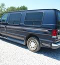 ford econoline e 150 1999 blue van v6 automatic 46168