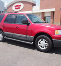 ford expedition 2005 red suv xlt gasoline 8 cylinders 4 wheel drive 4 speed automatic 46168