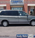 kia sedona 2005 green van ex gasoline 6 cylinders front wheel drive 5 speed automatic 46168