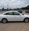 hyundai azera 2009 off white sedan gls gasoline 6 cylinders front wheel drive automatic 76049
