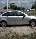 ford focus 2010 silver sedan se gasoline 4 cylinders front wheel drive automatic 75606