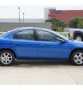 dodge neon 2005 blue sedan sxt gasoline 4 cylinders front wheel drive automatic 78232