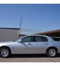 lincoln town car 1999 silver sedan signature gasoline v8 rear wheel drive automatic 79029