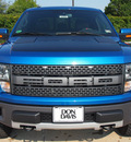 ford f 150 2012 blue svt raptor gasoline 8 cylinders 4 wheel drive automatic 76011
