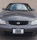 nissan sentra 2001 gray sedan gxe gasoline 4 cylinders front wheel drive automatic with overdrive 76011