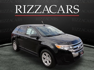 ford edge 2012 black se gasoline 4 cylinders front wheel drive automatic with overdrive 60546