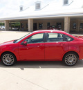 ford focus 2010 red sedan ses gasoline 4 cylinders front wheel drive automatic 76049