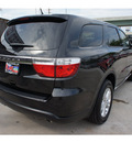 dodge durango 2012 black suv sxt gasoline 6 cylinders rear wheel drive automatic 77338