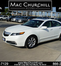 acura tl 2012 white sedan w tech pckg gasoline 6 cylinders front wheel drive automatic 76137