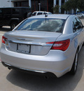 chrysler 200 2011 silver sedan touring flex fuel 6 cylinders front wheel drive automatic 75093