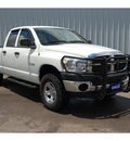 dodge ram pickup 1500 2008 white slt gasoline 8 cylinders 4 wheel drive automatic with overdrive 77632