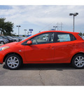 mazda mazda2 2012 red hatchback touring gasoline 4 cylinders front wheel drive automatic 79407