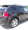 ford edge 2013 black suv sel gasoline 6 cylinders front wheel drive shiftable automatic 77388