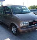 gmc safari 2005 lt  brown van gasoline 6 cylinders rear wheel drive automatic 76234