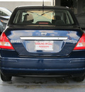 nissan versa 2011 dk  blue sedan 1 8 s gasoline 4 cylinders front wheel drive automatic with overdrive 77477