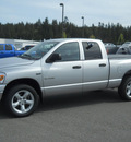 dodge ram pickup 1500 2008 silver slt gasoline 8 cylinders 4 wheel drive 5 speed automatic 99212