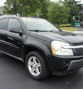 chevrolet equinox 2005 black suv lt gasoline 6 cylinders all whee drive automatic with overdrive 07730