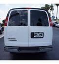 chevrolet express 3500 2011 white van lt ext flex fuel 8 cylinders rear wheel drive automatic 33177
