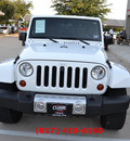 jeep wrangler unlimited 2011 white suv sahara w navigation gasoline 6 cylinders 4 wheel drive automatic 76051