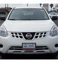 nissan rogue 2012 white s gasoline 4 cylinders front wheel drive automatic 78840