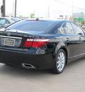 lexus ls 460 2009 black sedan gasoline 8 cylinders rear wheel drive shiftable automatic 77074