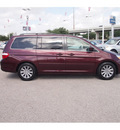 honda odyssey 2007 dk  red van touring gasoline 6 cylinders front wheel drive automatic 77074