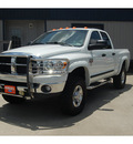 dodge ram pickup 2500 2007 white slt diesel 6 cylinders 4 wheel drive automatic with overdrive 77706