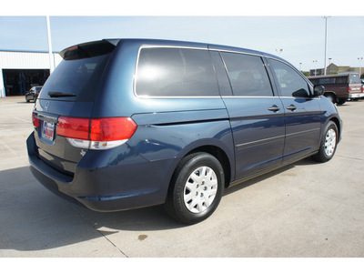 honda odyssey 2010 blue van lx gasoline 6 cylinders front wheel drive automatic 77034