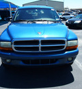 dodge durango 2002 dk  blue suv slt gasoline 8 cylinders rear wheel drive automatic 76234