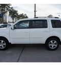 honda pilot 2011 white suv ex gasoline 6 cylinders 2 wheel drive automatic 77339