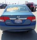 honda civic 2010 blue sedan dx vp gasoline 4 cylinders front wheel drive manual 90241