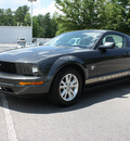 ford mustang 2009 gray coupe v6 premium gasoline 6 cylinders rear wheel drive automatic 27616