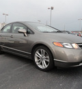 honda civic 2007 gray sedan si gasoline 4 cylinders front wheel drive 6 speed manual 60915