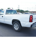 chevrolet silverado 1500 2006 white pickup truck ls gasoline 6 cylinders rear wheel drive automatic 77565