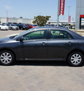 toyota corolla 2011 gray sedan le gasoline 4 cylinders front wheel drive automatic 76087