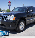 jeep grand cherokee 2008 black suv limited flex fuel 8 cylinders 2 wheel drive 5 speed with overdrive 75062