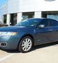 lincoln mkz hybrid 2012 lt  blue sedan hybrid 4 cylinders front wheel drive automatic 76011