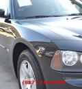 dodge charger 2006 black sedan se gasoline 6 cylinders rear wheel drive automatic 76051
