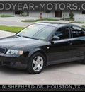 audi a4 2003 black sedan 1 8t gasoline 4 cylinders front wheel drive automatic 77008