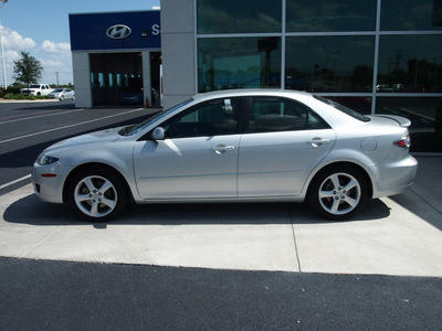 mazda mazda6i 2008 silver sedan sport gasoline 4 cylinders front wheel drive automatic 76234