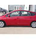 toyota prius 2008 red hatchback touring hybrid 4 cylinders front wheel drive automatic 77864